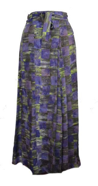 Skirt Wrap Around Blue