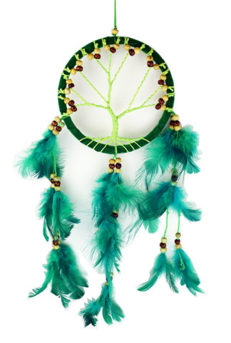 Dream Catcher Tree Green 12cm