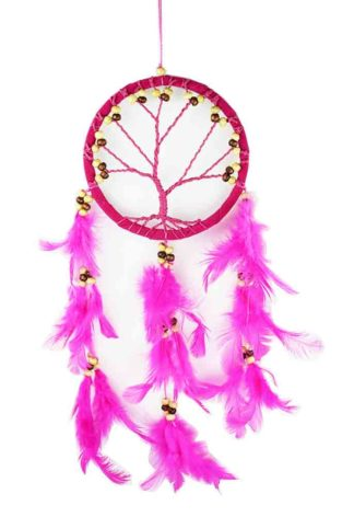 Dream Catcher Tree Pink 12cm