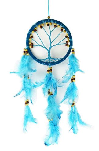 Dream Catcher Tree Turquoise 12cm