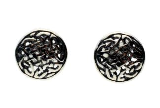 Silver Earring Stud Celtic
