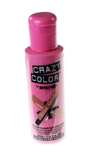 Crazy Colour Rose Gold 100ml